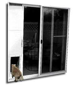 Patio Door Without Windows Patio Pet Doors By Wedgit
